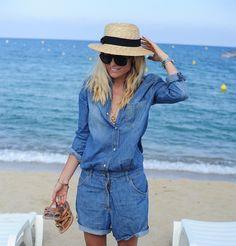 Style...Sofi Fahrman // Sofi's snapshots // Hunkydory denim jumpsuit