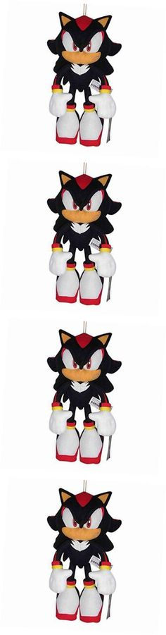 Sonic 158768: Sonic The Hedgehog Plush-12 Shadow (Ge-8967) -> BUY IT NOW ONLY: $31.96 on eBay!