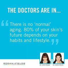 Want to wear your best skin? www.aford1.myrandf.com  Rodan and Fields