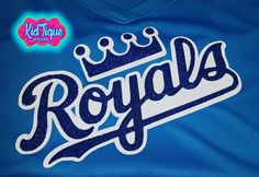 Team baseball shirts! #glittermyworld #glittershirt #baseballmom #kidtiquemcallen #royals #fanshirt #customorder #makeityours