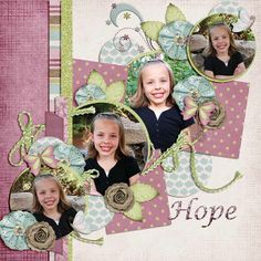 Kit: Head in the Clouds- Scraps N Pieces Store Collab Template: Pack 61 by AKDesigns