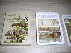 Von d Ostsee z Thüringer Wald Lehrquartett unbenutzte Karten Altenburg DDR TOP
