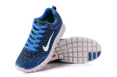 brand new f8d5e d7095 2013 Nike Free 6.0 Blue Spider-man Running Shoes Blue Womens Sneakers
