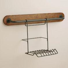 Modular Kitchen Wall Storage Plate Rack | World Market