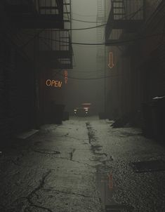 between realistic NY side alley and stylised asian mega city slumms Night Aesthetic, City Aesthetic, Aesthetic Dark, Dark Photography, Street Photography, Night Photography, Aesthetic Backgrounds, Aesthetic Wallpapers, Witcher Wallpaper