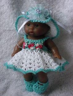 Resultado de imagem para free crochet patterns of dresses and shoes