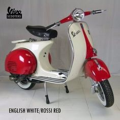 Not really into Scooters myself but sometimes a classic model catches your eye! Not bad for red!