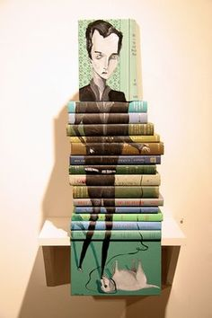 painted books