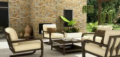 Fachaletas Allegrezza Outdoor Furniture Sets, Outdoor Decor, Exterior, Closet, Home Decor, Natural Texture, Outdoor Furniture, Trendy Tree, Home
