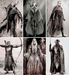 Elves of Mirkwood Mirkwood Elves, Lotr Elves, Hobbit Art, The Hobbit, Legolas And Thranduil, Gandalf, Elf Art, Jrr Tolkien, High Fantasy