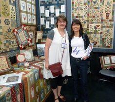 Gail Pan & Michelle May.  International Quilt Market 2012