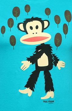 Paul Frank monkey as Big Foot. Wait, is Paul Frank the monkey or the person behind the monkey?