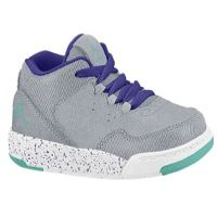 Jordan Flight Origin 2 - Girls' Toddler - Grey / Aqua