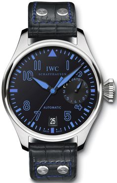 IWC - awesome blue and black dial