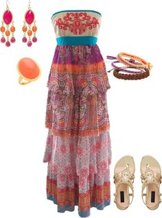 """Bohemian Beauty"" by rebekahcutshall on Polyvore"