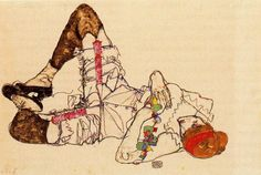 I have never noticed Egon Schiele before, a protege of Gustav Klimt who focused … – Keep up with the times. Gustav Klimt, Life Drawing, Painting & Drawing, Vintage Artwork, Art Moderne, Art Graphique, Pablo Picasso, Art World, Figurative Art
