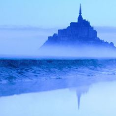 Michel at Dawn Normandy France picture, Mont St. Michel at Dawn Normandy France photo, Mont St. Michel at Dawn Normandy France wallpaper Saint Michael France, Mont Saint Michel France, Oh The Places You'll Go, Places To Visit, France Wallpaper, St Michael's Mount, The Mont, Normandy France, France Photos