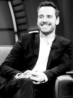 Michael Fassbender on Late Night with Seth Meyers, August 8, 2014.
