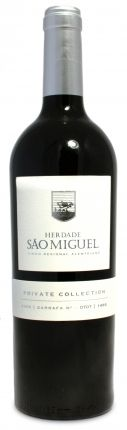 Herdade Sao Miguel  'Private Collection'  Tinto Disponível em www.estadoliquido.pt