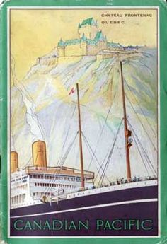 The Canadian Pacific S.S. Empress of Scotland.  The ship my Grandpa Janzen came to Canada on with his family.  They arrived in Quebec on July 17, 1926.