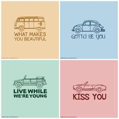 The cars of One Direction and as Louis stated: he got pulled over TWICE in WMYB, broke the Mini Cooper in Gotta Be You, broke the Jeep in LWWY, and now they are not really letting him drive in Kiss You!
