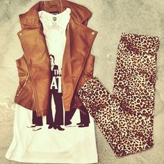 ♥♥love the vest and tshirt  but not the pants