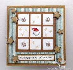 Weihnachtskarte mit Mini Nikolaus