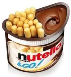 Dunkaroos + Nutella = EPIC WIN. @Haley Efird, we need to find a place that sells these. NOW.