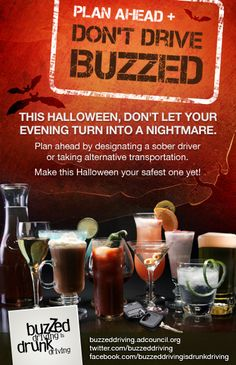 halloween-safety, Non-alcoholic drinks