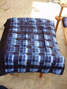indigo cloth from Mali