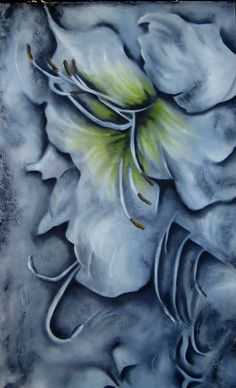 """Delicate Power"" - oil - 60"" x 36"" - on gallery canvas - $2160."