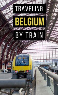 Traveling Belgium by Train