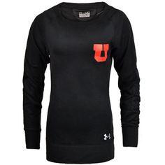 University of Utah Dry-Fit Sweater. #GoUtes #UniversityofUtah #UnderArmour