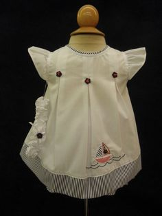 $48 Will'beth sailor themed dress set w/headband. Love the red, white & blue!