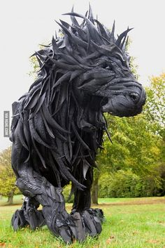 Made of old tires