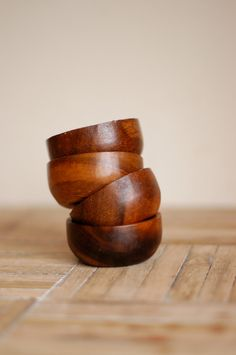 Mid-Century Danish Wood Bowls... just got some exactly like this from my great grandma
