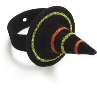 halloween witch napkin ring