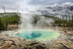Cistern Spring, Yellowstone NP. Niagara Falls, Waterfall, Spring, Nature, Travel, Outdoor, Style, Voyage, Outdoors