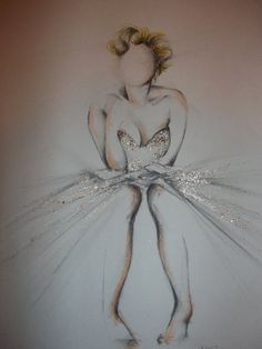 Marilyn Monroe inspired sketch by VerySherryArt