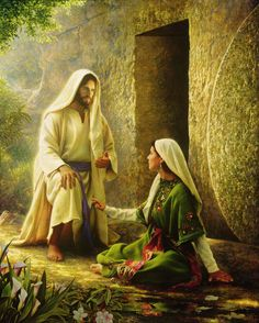 He Is Risen. Painting by Greg Olsen