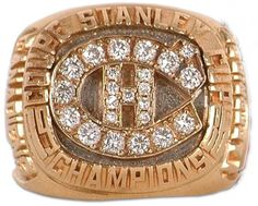 Montreal Canadiens - 1986 Stanley Cup Ring