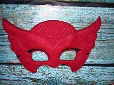 Owlette PJ enmascara las alas y máscara disfraz por AshAlyDesigns