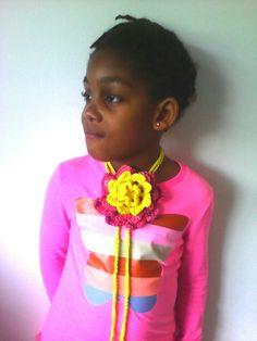 Full bloom headband/necklace/belt