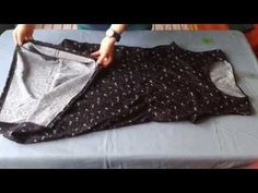 KENDİ KIYAFETİNLE KOLAY KALIP ÇIKARMA/ÇÖP POŞETİNE KALIP ÇIKARMA/Sewing Project for Beginners - YouTube