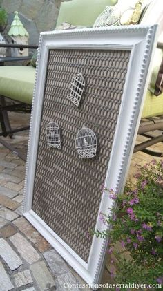 Cool metal material - Magnetic Message Board