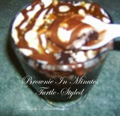 In Cindy's Kitchen: Brownies In Minutes, Turtle Styled with Marshmallow Creme