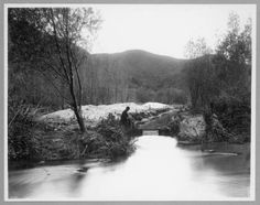 Before it was a concrete channel, the Los Angeles River was…wait for it…AN ACTUAL RIVER
