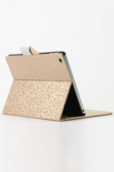 Glitter Geo Pattern Carrying Case For Ipad Air OASAP.com