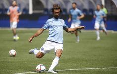 @Pirlo taking some shots on goal during practice #9ine