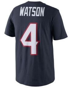 f538b4019 Nike Men s DeShaun Watson Houston Texans Pride Name and Number T-Shirt Men  - Sports Fan Shop By Lids - Macy s